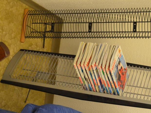 Display/Shelf for Make Magazines