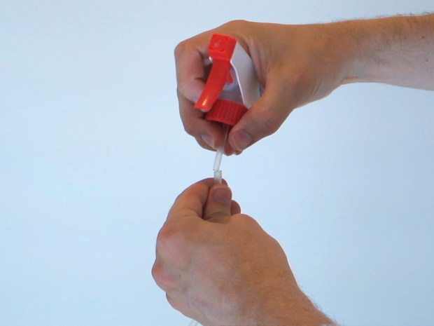 Spray Bottle That Works in Any Direction/Position