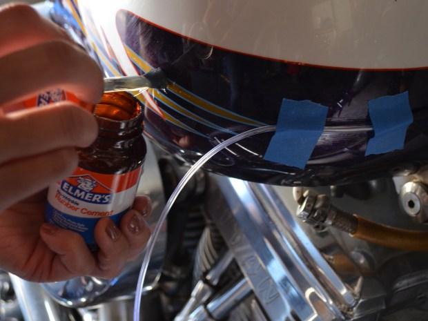 EZ-EL Wire Tron Motorcycle