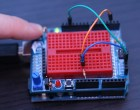 Using the MakerShield – Button