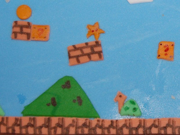 Playable Super Mario Cake