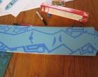 Simple Longboard Skateboard