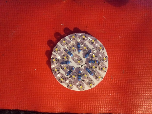 LED Lamp Kit with 24 x 5mm LED's