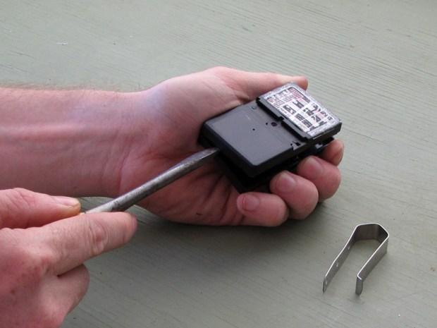 Secret Garage Door Remote