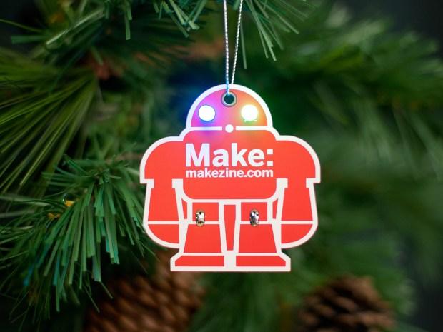 MAKE Holiday Ornament