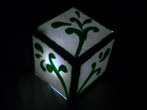 LED Night-Light Cube