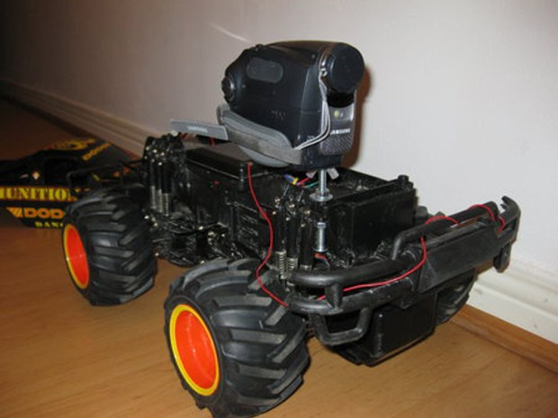 Remote-Controlled Camera Mount