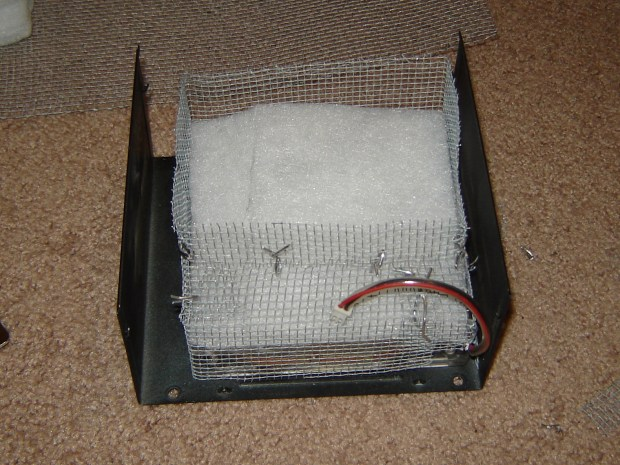 Re-purposed Power Supply Fume Extractor