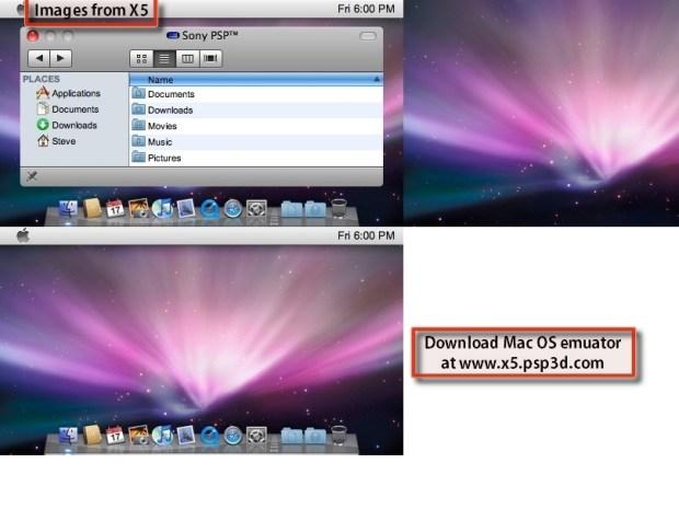 How to Run Mac OS on a PSP