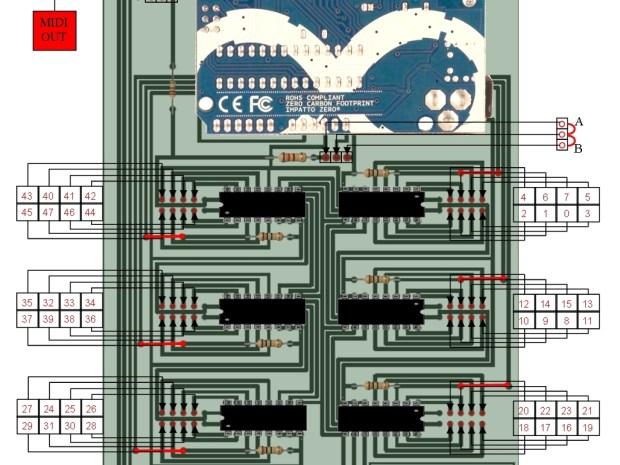 Arduino-Based MIDI Drum System