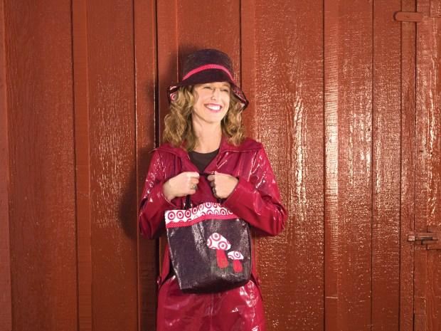 Toadstool Tote and Rain Bucket Hat