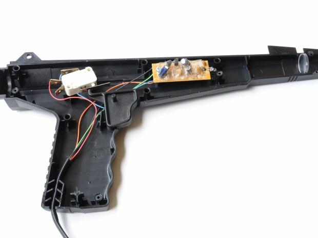 Gun-Operated Alarm Clock
