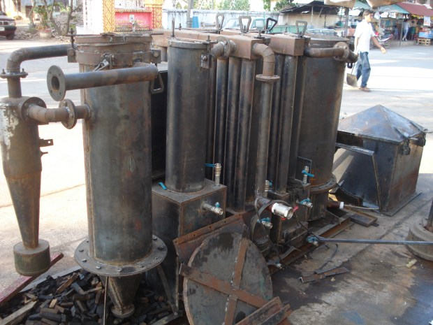 Wood Gas, Syngas = Gasifier
