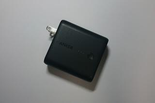 ACアダプタいらずの2in1モバイルバッテリー「Anker PowerCore Fusion 5000」
