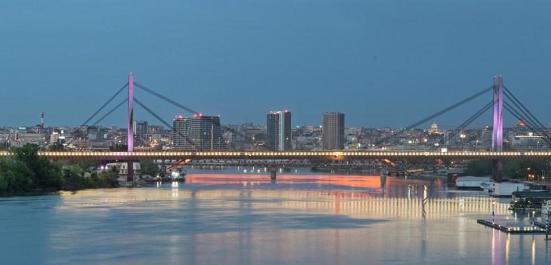 ベオグラードの橋の写真