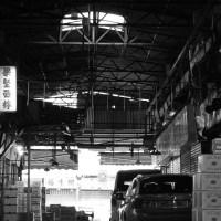 卸売市場の写真