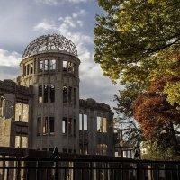 広島原爆ドームの写真