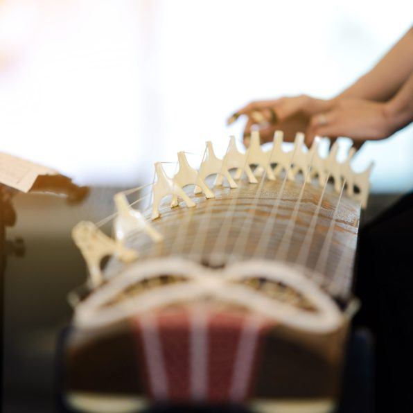 Koto - traditional musical instrument of Japan