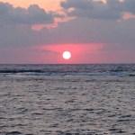 久高島の日の出