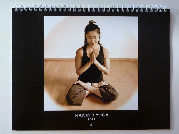 Makiko Kurata yoga & healing English site