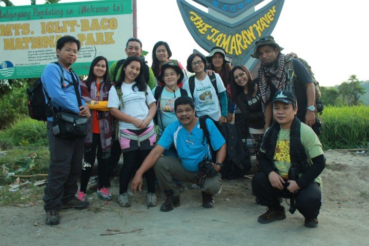 MCME Technical Working Group hiked the Mts. Iglit-Baco National Park
