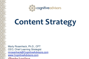 Trek Content Strategy by Marty Rosenheck