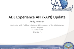 LRS and xAPI Conformance by Andy Johnson