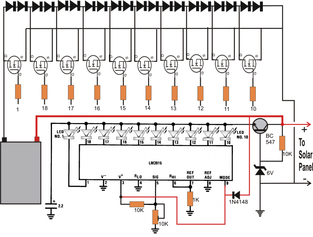 Simple MPPT Circuit Simulating An Incremental Conductance