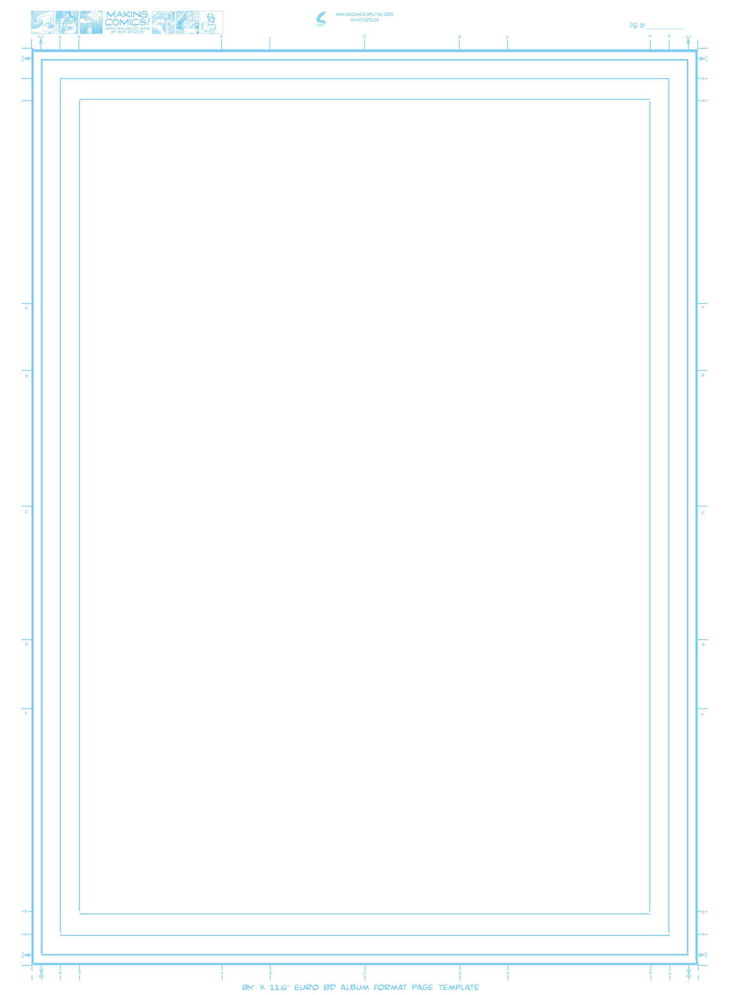 Page aspect ratios & templates – Making Comics