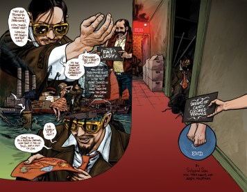 page from Revolver Two/Popgun 4