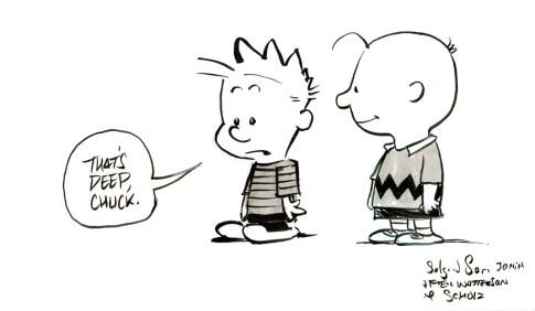 Bill Watterson & Charles Schulz