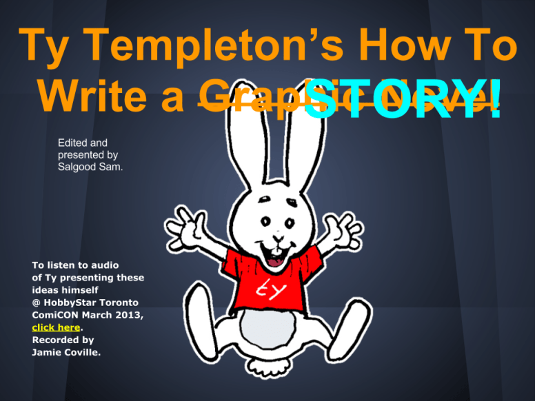 how to build a story 01