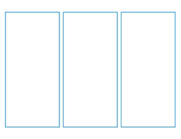 Three panel layout