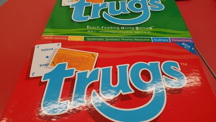 TRUGS: Teaching Reading Using games Review