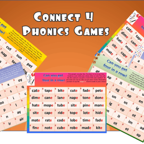 Connect Four Phonics