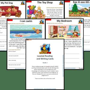 FREE Grade 1 reading comprehension worksheets