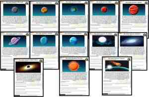 FREE Reading and writing Space worksheets Earth