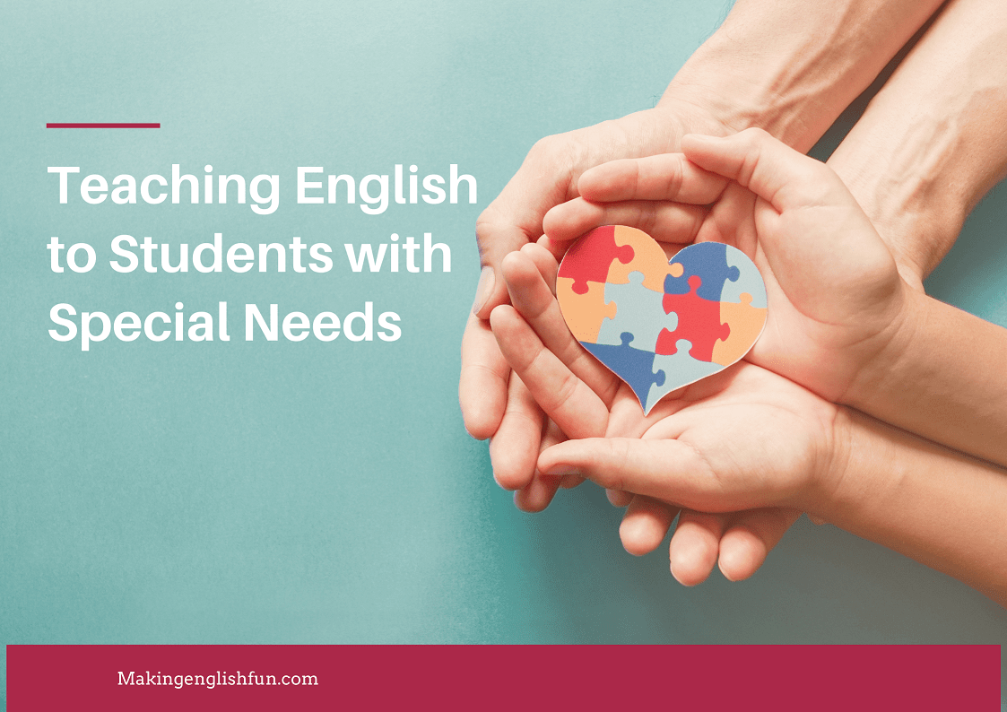 Teaching english esl to students with special needs