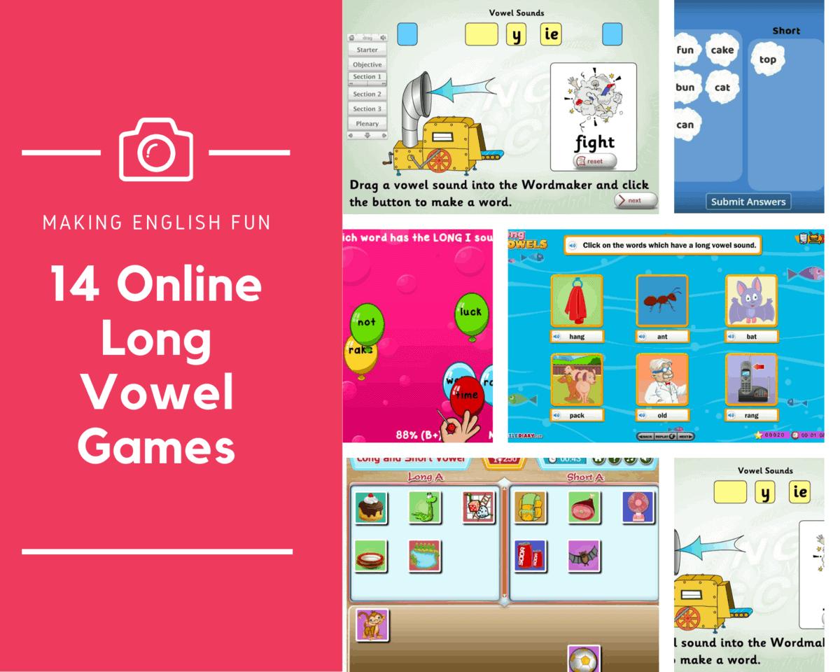 Free Long Vowel Online Games