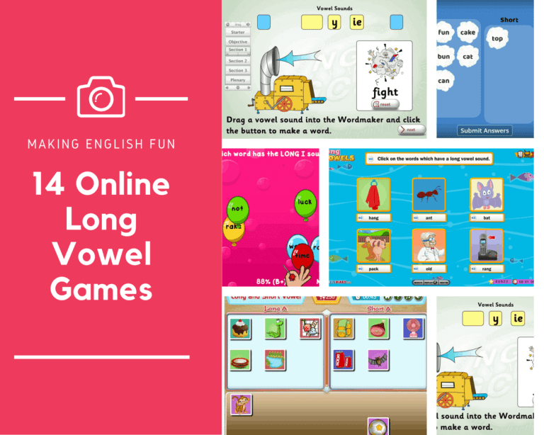 12 of the Best Free Online Long Vowel Phonics Games.