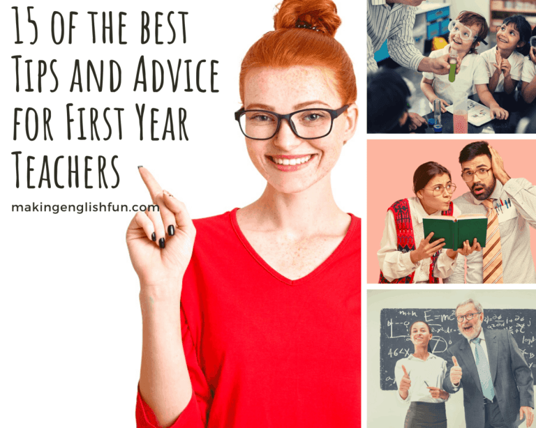 The Best Tips For First Year Teachers