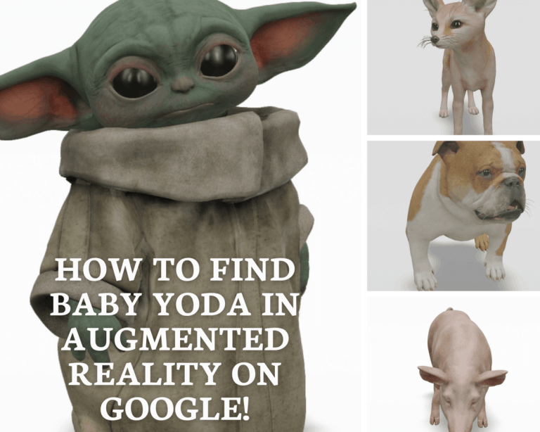 How to find Baby Yoda on Google AR