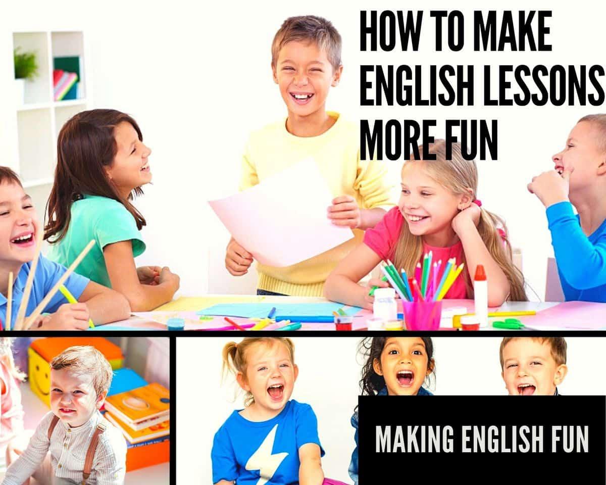 Fun English lessons