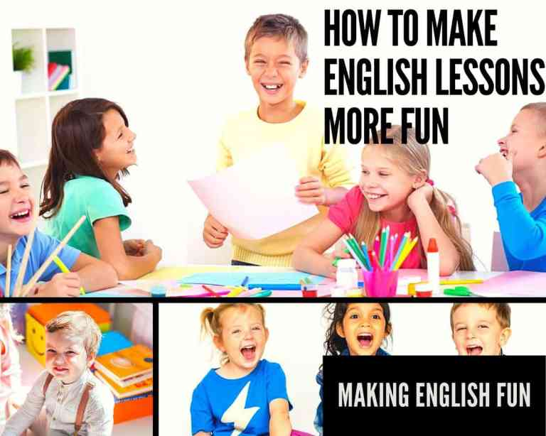 How to Make English Lessons More Fun