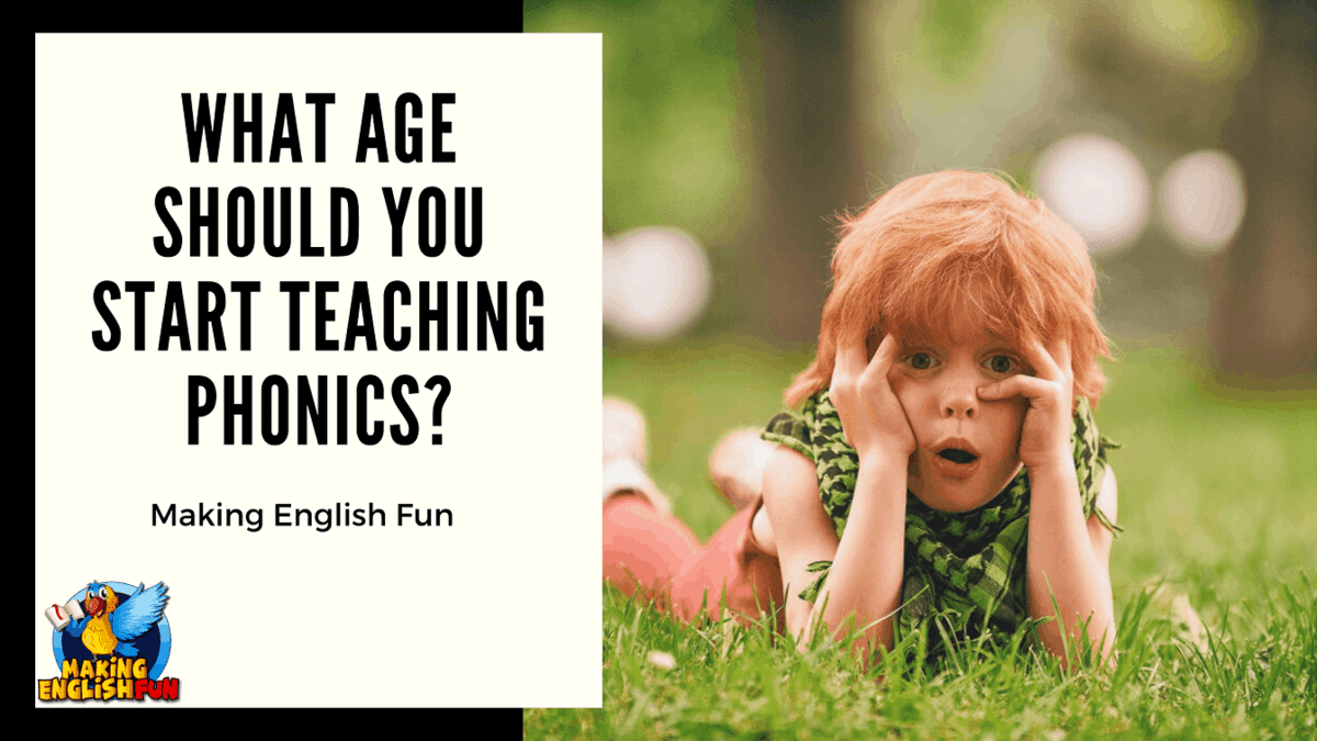 Age to teach phonics