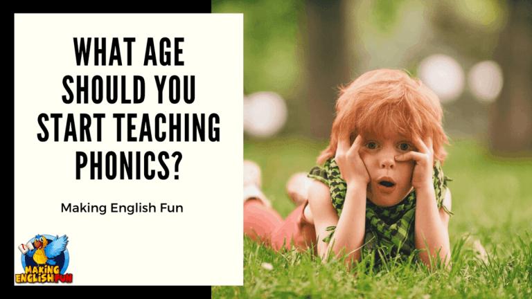 What Age Should You Start Teaching Phonics