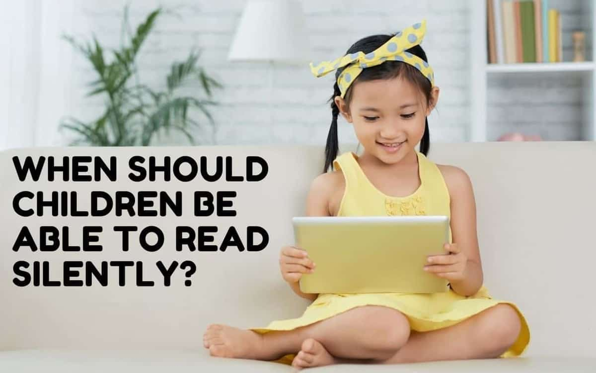 At what age should children be able to read silently