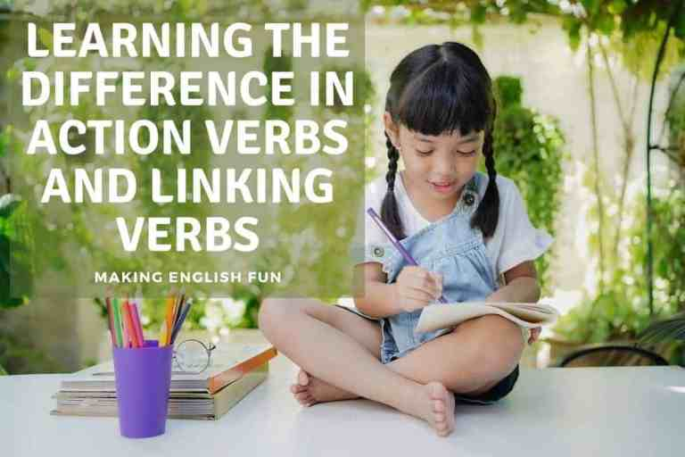 Learning the Difference between Action Verbs and Linking Verbs
