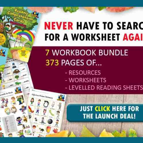 Phonics and Reading Workbook Bundle