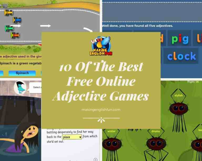 The Best Free Online Adjective Games